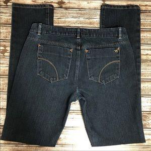 Joe's Cigarette Fit Dark Wash Skinny Jeans - 29